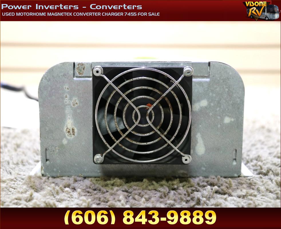 Rv Components Used Motorhome Magnetek Converter Charger
