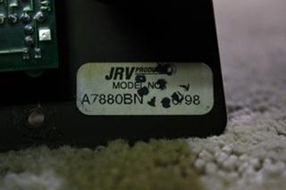 USED JRV SAFARI TANK MONITOR PANEL A78808BN FOR SALE