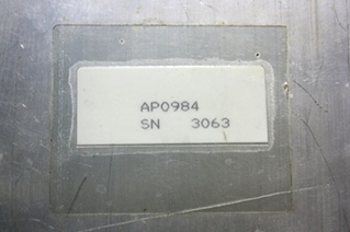 USED HWH LEVEL CONTROL BOX AP0984 FOR SALE