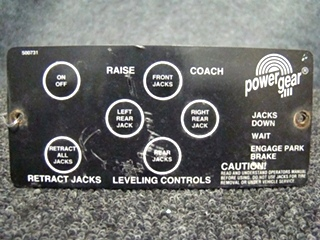 USED RV/MOTORHOME POWER GEAR LEVELING CONTROLLER FOR SALE
