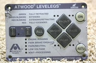 USED ATWOOD TOUCH PAD LEVELING CONTROL 66273 FOR SALE *OUT OF STOCK*