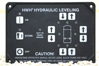 USED HWH LEVELING CONTROL TOUCH PAD AP10215 FOR SALE