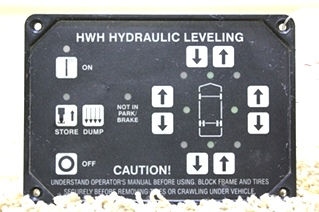 USED HWH LEVELING CONTROL TOUCH PAD AP10054 FOR SALE