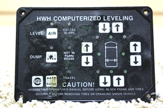 USED HWH LEVELING CONTROL AP6975 TOUCH PAD FOR SALE