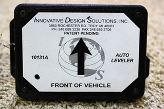 USED INNOVATIVE DESIGN SOLUTIONS AUTO LEVELER 10131A FOR SALE