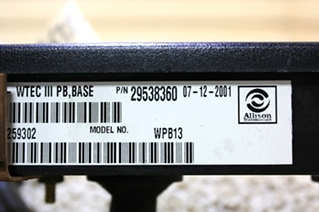 USED ALLISON SHIFT SELECTOR 29538360 FOR SALE