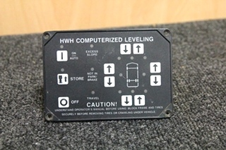 USED RV/MOTORHOME HWH CORPORATION COMPUTERIZED LEVELING (NO PN)