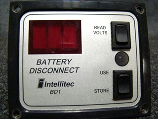 USED RV/MOTORHOME INTELLITEC BATTERY DISCONNECT SWITCH PANEL BD1 FOR SALE