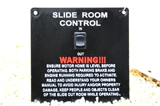 USED SLIDE ROOM CONTROL FOR SALE