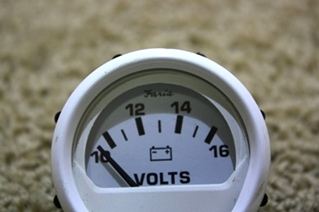 USED FARIA VOLTS DASH GAUGE VP9139D FOR SALE