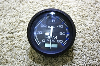 USED FARIA TACHOMETER DASH GAUGE TC9137D FOR SALE
