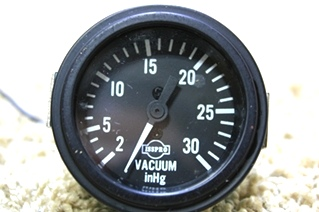 USED ISSPRO VACUUM INHG GAUGE 4-92 R8675 FOR SALE