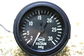 USED ISSPRO VACUUM INHG GAUGE 4-92 R8675 FOR SALE