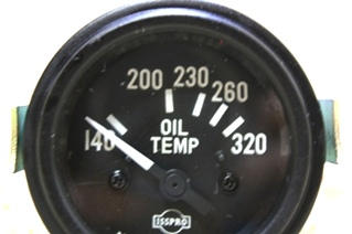 USED ISSPRO OIL TEMP GAUGE R8654 FOR SALE