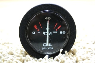 USED OIL PSI/KPA GAUGE 57916 FOR SALE