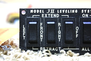 USED RVA MODEL JII LEVELING SYSTEM SWITCHES FOR SALE