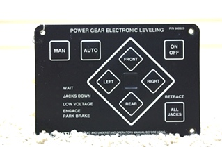 USED POWER GEAR LEVELING TOUCH PAD 500629 FOR SALE