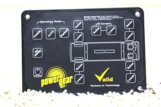 USED POWER GEAR VALID LEVELING CONTROLLER 140-1206 FOR SALE