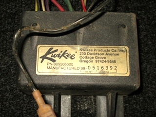 USED KWIKEE STEP CONTROLLER P/N 909506 FOR SALE