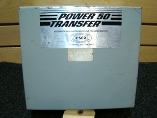 USED RV/MOTORHOME POWER 50 AUTOMATIC TRANSFER SWITCH BOX