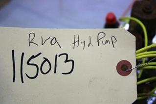 USED RVA HYDRAULIC PUMP 22.5A FOR SALE