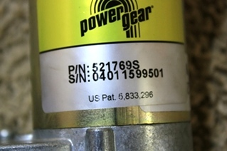 POWER GEAR SLIDE OUT MOTOR 521769 FOR SALE