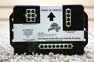 USED POWER GEAR LEVELING CONTROL 500630 FOR SALE