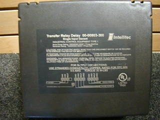 USED RV/MOTORHOME INTELLITEC TRANSFER RELAY DELAY