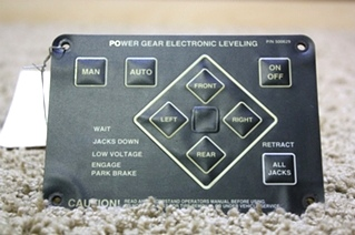 USED POWER GEAR LEVELING TOUCH PAD 500629 FOR SALE  **OUT OF STOCK**