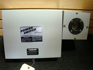 USED RV/MOTORHOME POWER SWITCH AUTOMATIC TRANSFER SWITCH BOX FOR SALE
