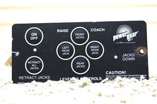 USED POWER GEAR LEVELING CONTROL TOUCH PAD 500456 FOR SALE OUT OF STOCK*