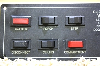 USED JRV SLIDE OUT CONTROL PANEL A3226BL/113181 FOR SALE