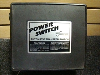 USED RV/MOTORHOME POWER SWITCH AUTOMATIC TRANSFER SWITCH FOR SALE