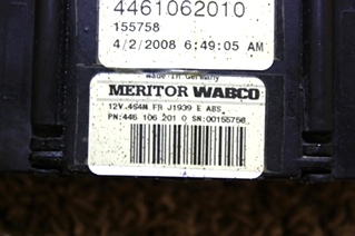 USED MERITOR WABCO ABS CONTROL BOARD 4461062040 FOR SALE