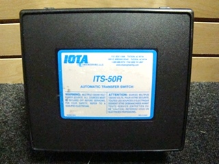 USED RV/MOTORHOME IOTA AUTOMATIC TRANSFER SWITCH FOR SALE