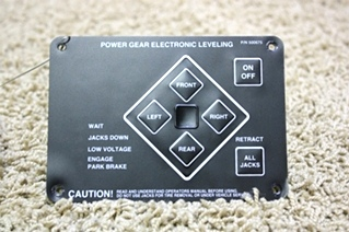 USED RV PARTS POWER GEAR LEVELING TOUCH PAD 500675 FOR SALE