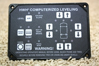 RV PARTS HWH LEVELING TOUCH PAD AP24249 FOR SALE