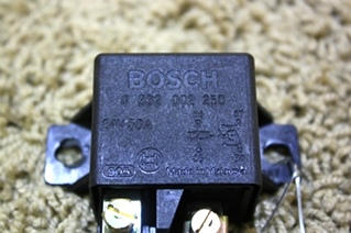 USED RV PARTS BOSCH 24 VOLT DC 50 AMP RELAY FOR SALE