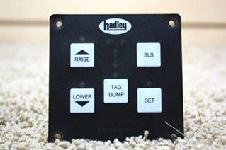 USED RV PARTS HADLEY AIR LEVELING CONTROL PAD FOR SALE