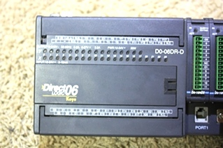 USED DIRECT LOGIC DL06 MICRO PLC UNIT D0-06DR-D FOR SALE