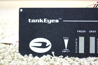 USED TANK EYES TANK MONITOR PANEL MOTORHOME PARTS FOR SALE