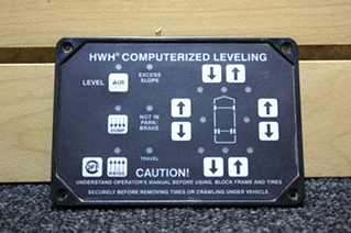 USED HWH LEVELING TOUCH PAD AP8444 RV PARTS FOR SALE