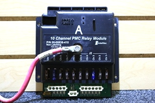 USED INTELLITEC 10 CHANNEL PMC RELAY MODULE 00-00838-410 FOR SALE
