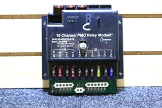 USED 10 CHANNEL PMC RELAY MODULE RV MOTORHOME PARTS FOR SALE