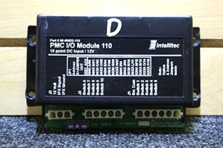 USED INTELLITEC PMC I/O MODULE 110 RV MOTORHOME PARTS FOR SALE