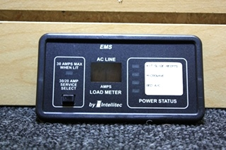 USED RV PARTS INTELLITEC EMS DISPLAY FOR SALE