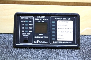USED RV PARTS INTELLITEC 50 AMP SMART EMS PANEL FOR SALE