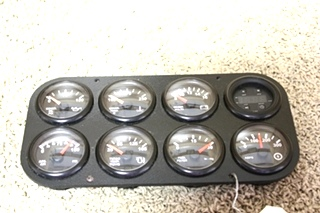 USED RV PARTS DASH GAUGE CLUSTER FOR SALE