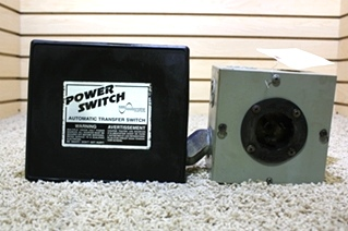 USED POWER SWITCH AUTOMATIC TRANSFER SWITCH PS 245L FOR SALE