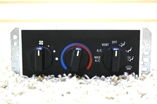 USED RV A/C DASH CONTROL PANEL RV200729 FOR SALE